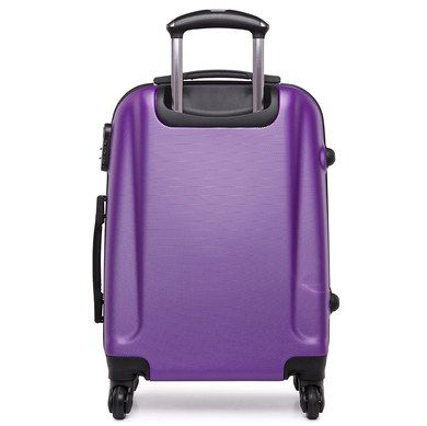 Hand Luggage Hard Case In Purple Finish