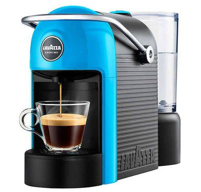Pod Brewing Coffee Maker With Blue Front