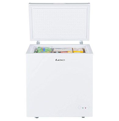 Chest Freezer In Bright White