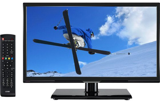 20 Inch Screen TV With Black Remote