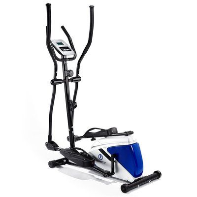 Elliptical Cross Trainer In White And Blue