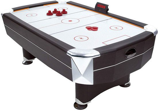 Air Hockey Table With Red LED Scorer