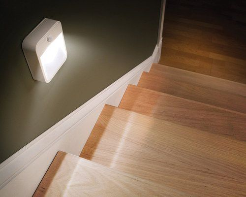 LED Light In White Square