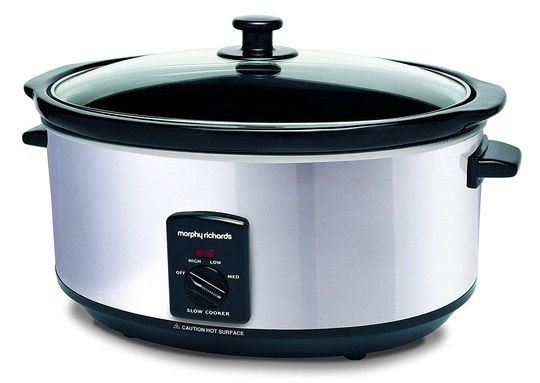 Big Oval Family Slow Cooker With Black Dial