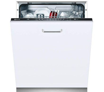 Integrated Dishwasher With White Exterior