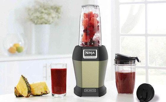 Blender Smoothie Maker With Black Base