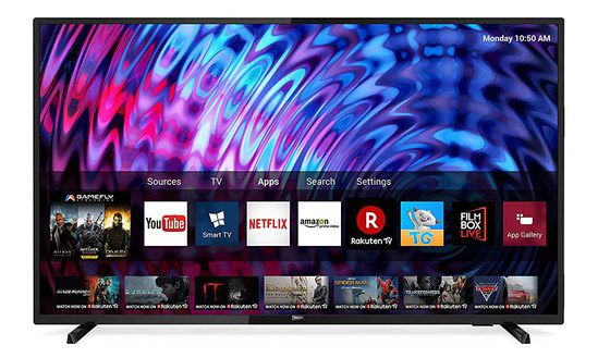 LED TV With Apps On Screen