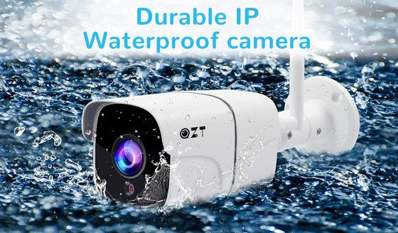HD Outdoor Camera In Water Fall