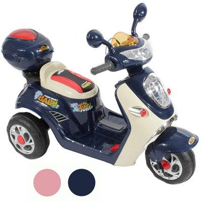 Kids Electric 6V Motorbike In Blue