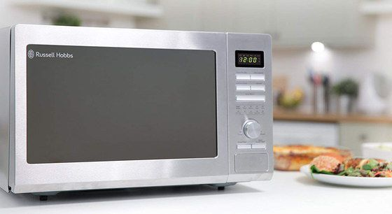 Steel Microwave Convection Oven With LED Screen