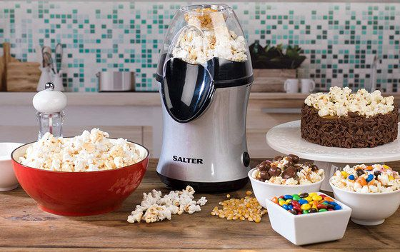 Air Popcorn Maker With See-Through Cover