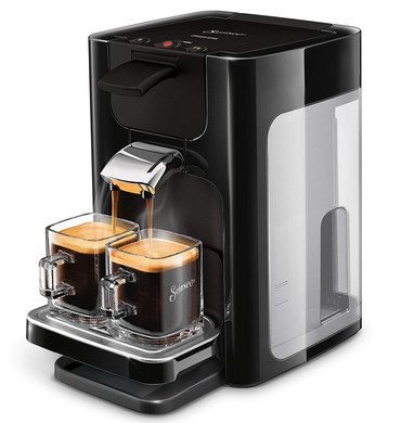 Pod Coffee Maker With 2 Glass Cups