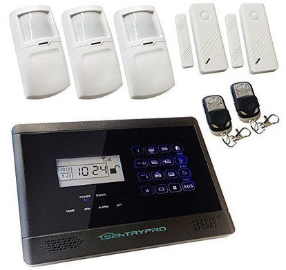 Alarm Kit With Two Black Fobs