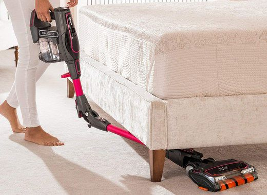 Stick Cordless Vacuum With Red Bar