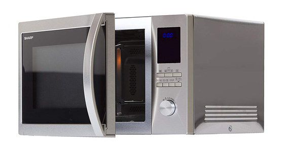 Steel Combination Oven Microwave With Big Dial