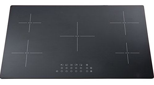 Induction Hob With Black Press Settings