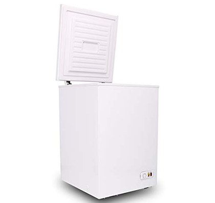 White Chest Freezer With Square Lid