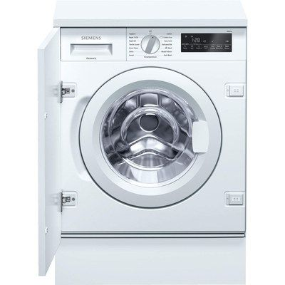 White Colour Fully Integrated Washing Machine