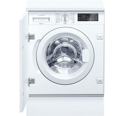 Integrated Front Load White Washer