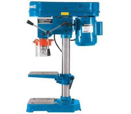 Pillar Drilling Machine In Blue