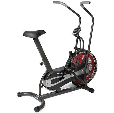 Cross Trainer Bike With Red Wheel