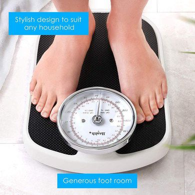 Simple Weighing Machine With Black Podium