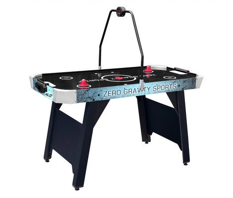 Air Hockey Table With Round Scorer