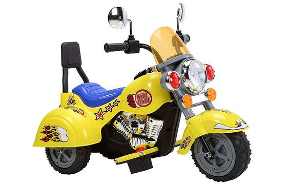 Kids Motorbike Trike In Yellow