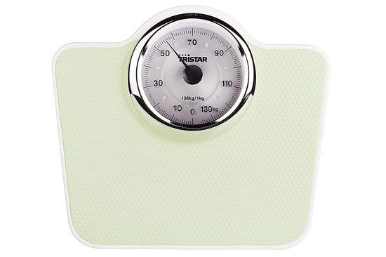 Small Mechanical Weighing Scale In Cream Finish