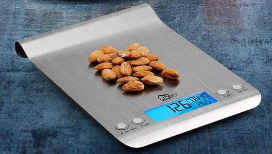 Kitchen Weighing Scales With 4 Buttons