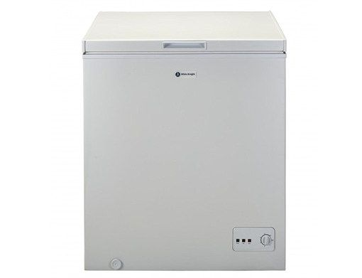 Small Chest Freezer In White