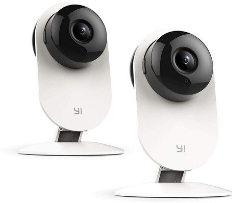 Security Cameras With White Base