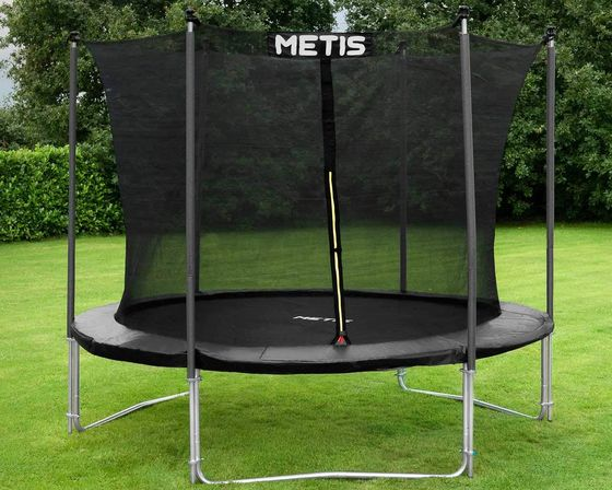 10ft Black Trampoline With Net