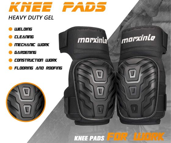 Adjustable Knee Pads Heavy Duty Gel