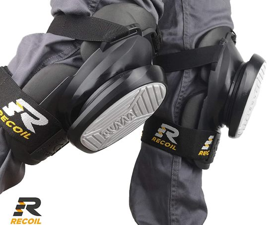 Spring Loaded Work Kneepads High Density