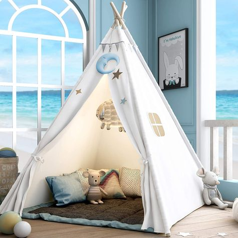 Sumerice Teepee For Kids With Carry Case