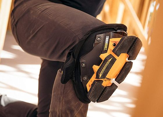 Tradesman Knee Pads In Black Yellow