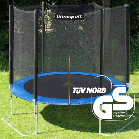 Steel Frame Garden Trampoline With Net