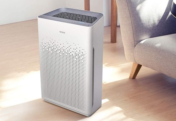 HEPA Air Cleaner For Home In All White