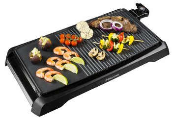Teppanyaki Japanese Grill Plate In Black Covering