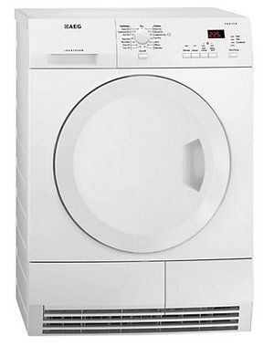 AEG Lavatherm T65270AC (Silent Technique) Dryer In Bright White