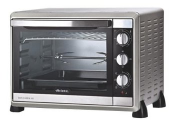 Bon Cuisine Timer Mini OvenIn Chrome Finish