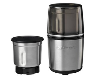 Spice Nut Grinder With Black And Steel Casing