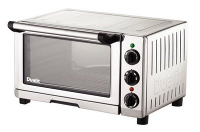 Mini Oven In Polished Chrome Effect