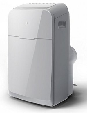 Portable Air Conditioner In Glossy Cream Colour
