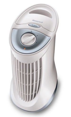 Home Air Cleaner In Tower Style, White Finish