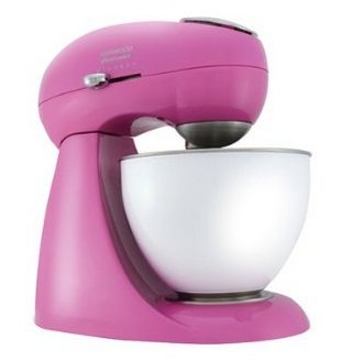 Mixer In Bright Pink Finish