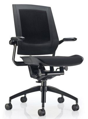 Koplus Bodyflex ABT (Active Back Technology) Ergo Office Chair In Black Covering