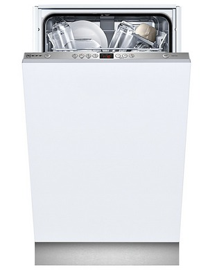 VarioSpeed Slimline Dishwasher In All White