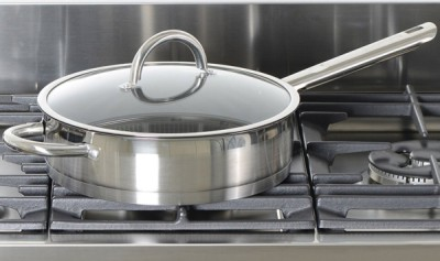 Non-Stick Steel Pan On Range Oven